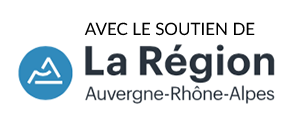 Avec le soutien de la Région Auvergne Rhône-Alpes