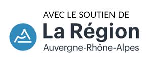 Avec le soutien de la Région Auvergne Rhône-Alpes