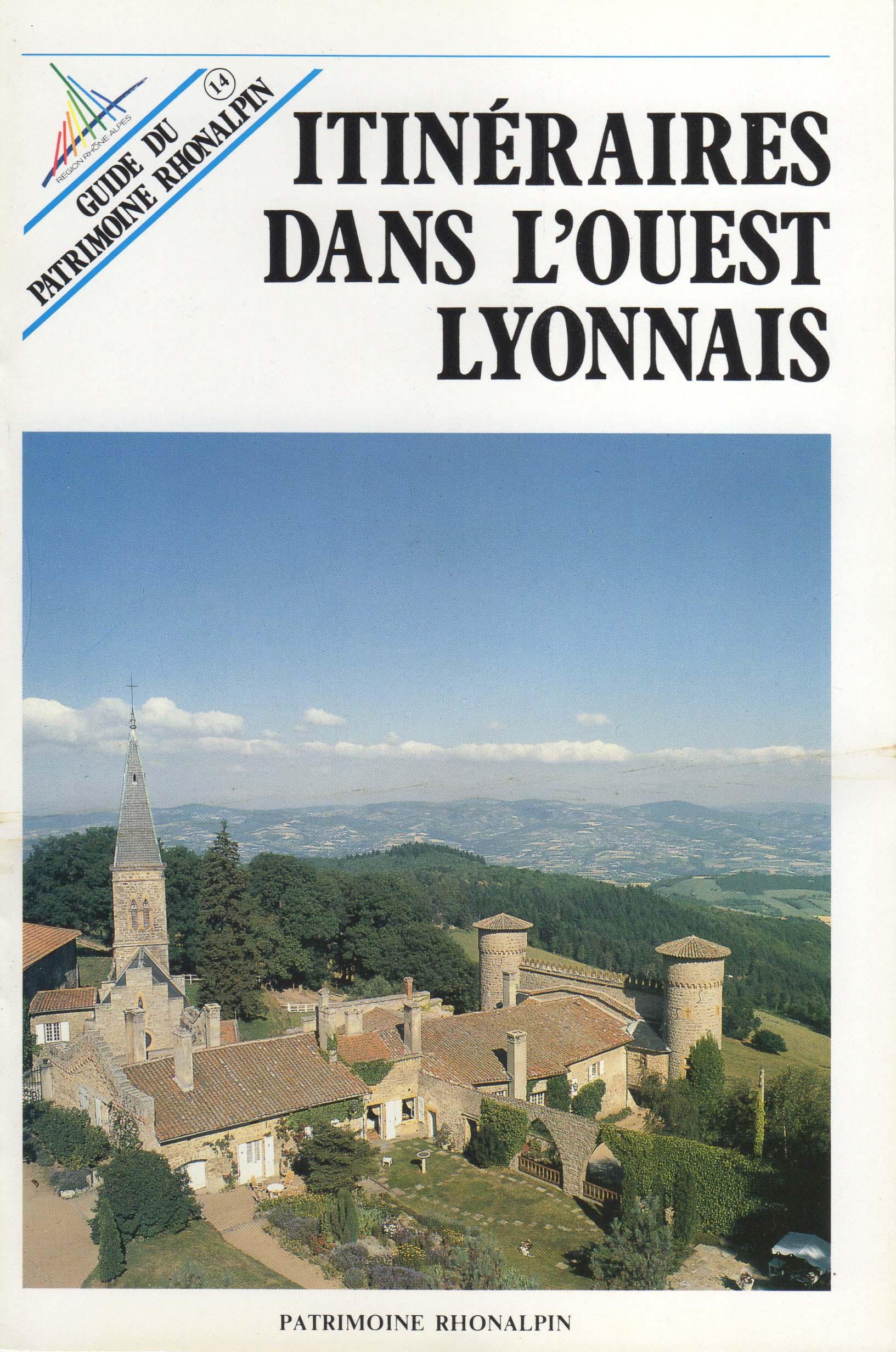 Guide n°14 – Itinéraires dans l'Ouest lyonnais