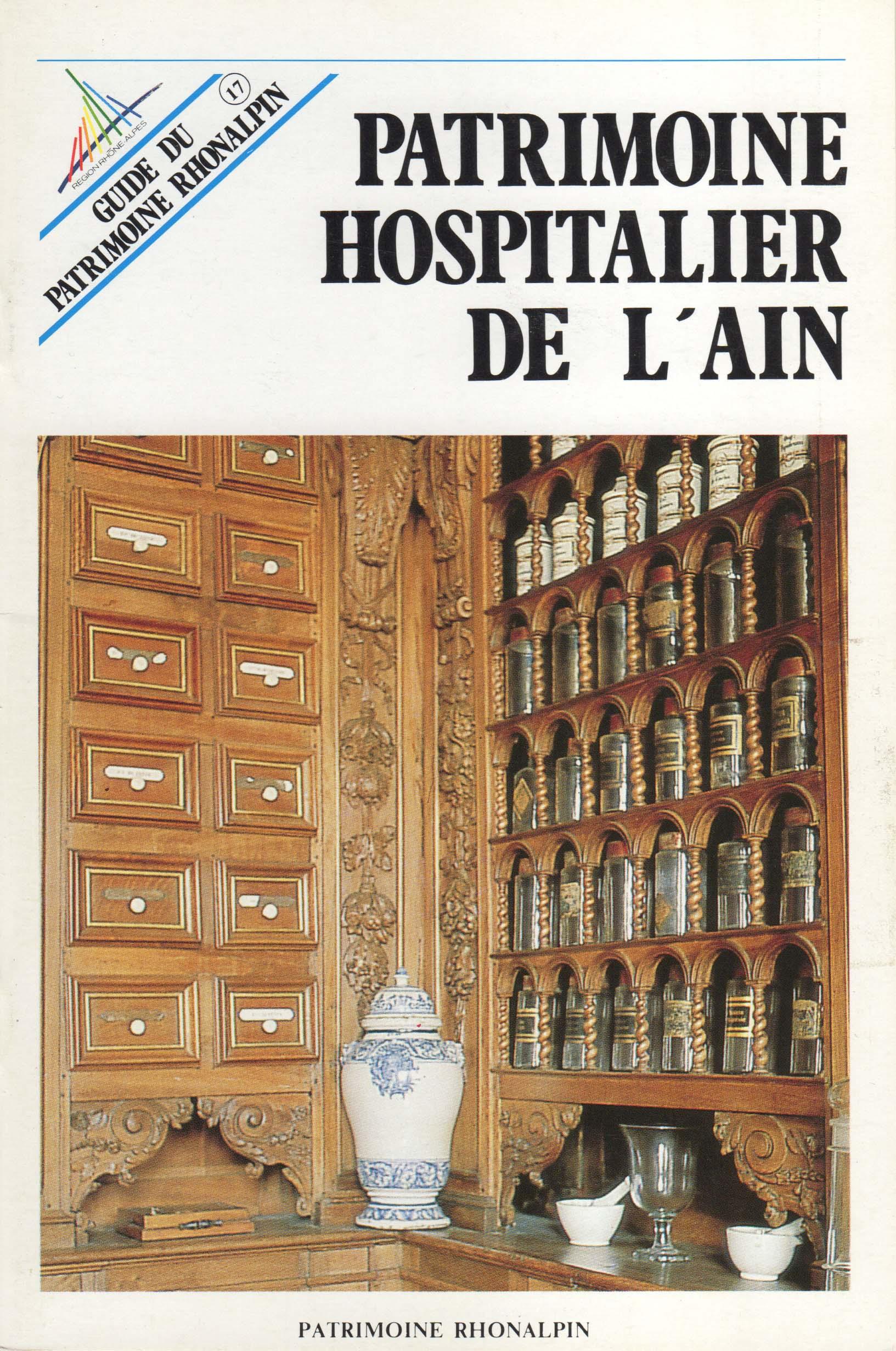 Guide n°17 – Patrimoine hospitalier de l'Ain