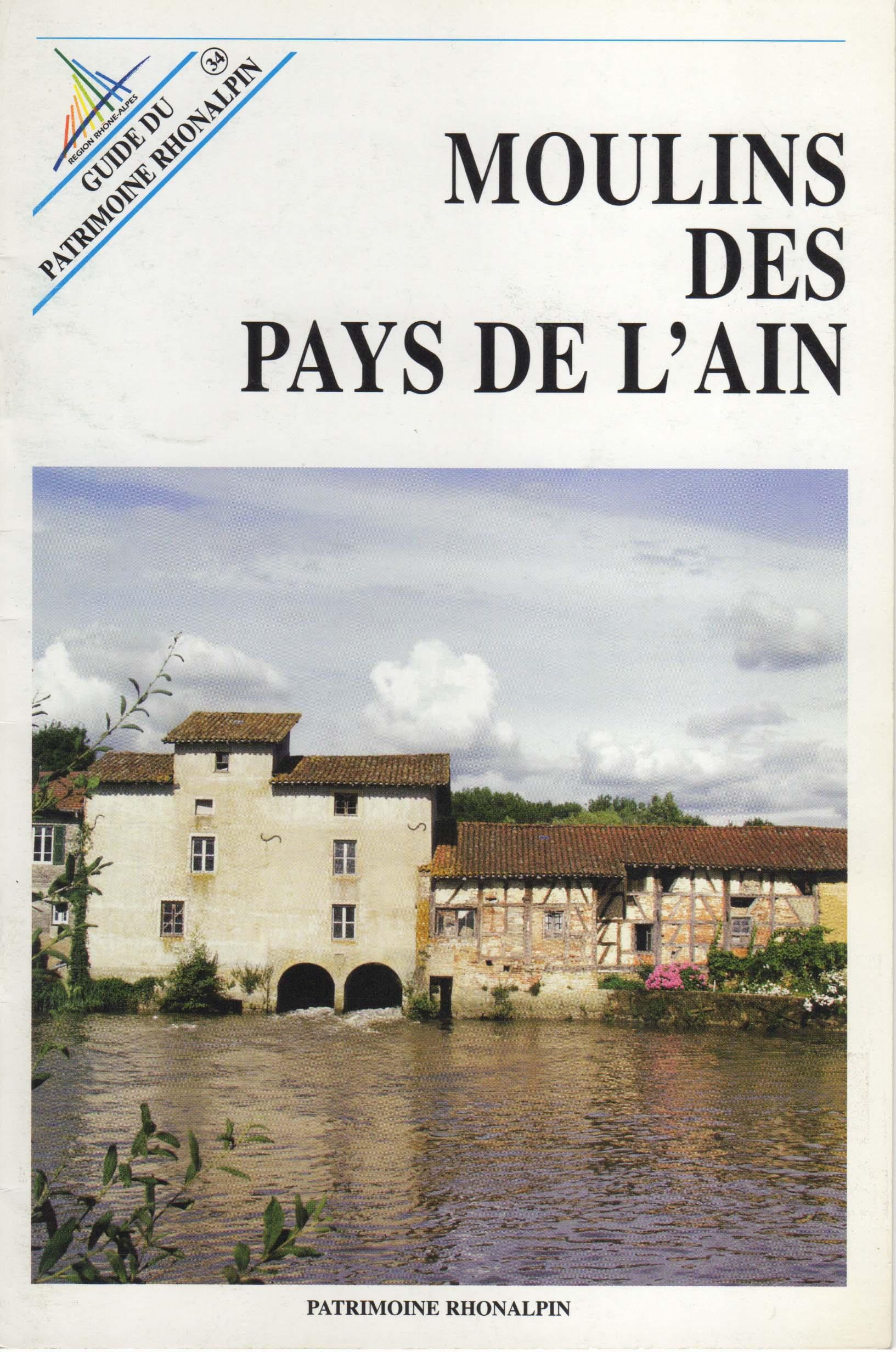 Guide n°34 – Moulins des pays de l'Ain
