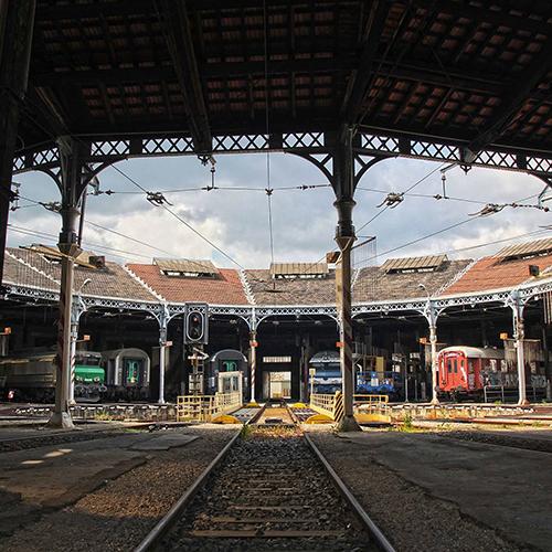 Dépôt ferroviaire de Lyon-Mouche (69)