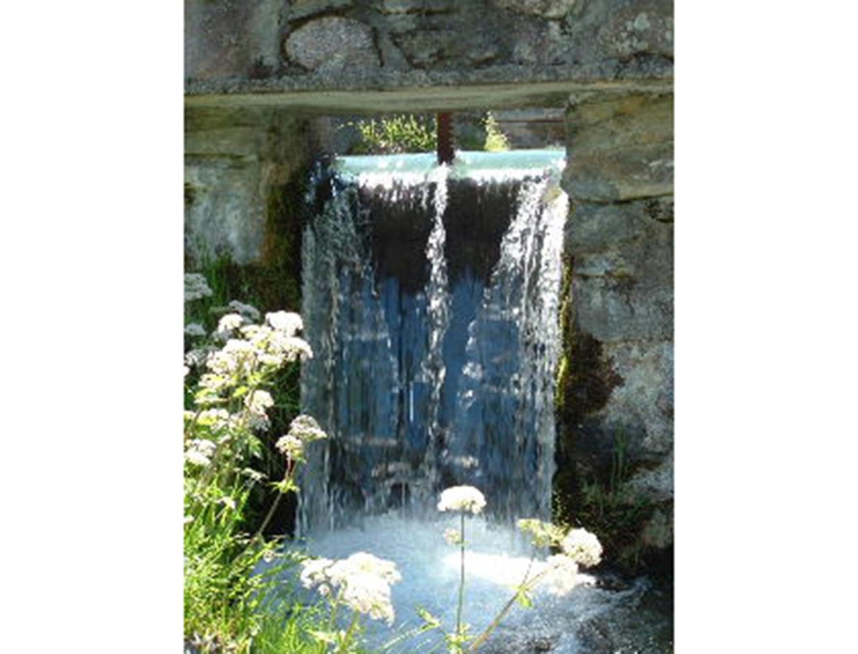 Prise d'eau - Valorisation de la maison des forges et moulins de Pinsot (Isère)