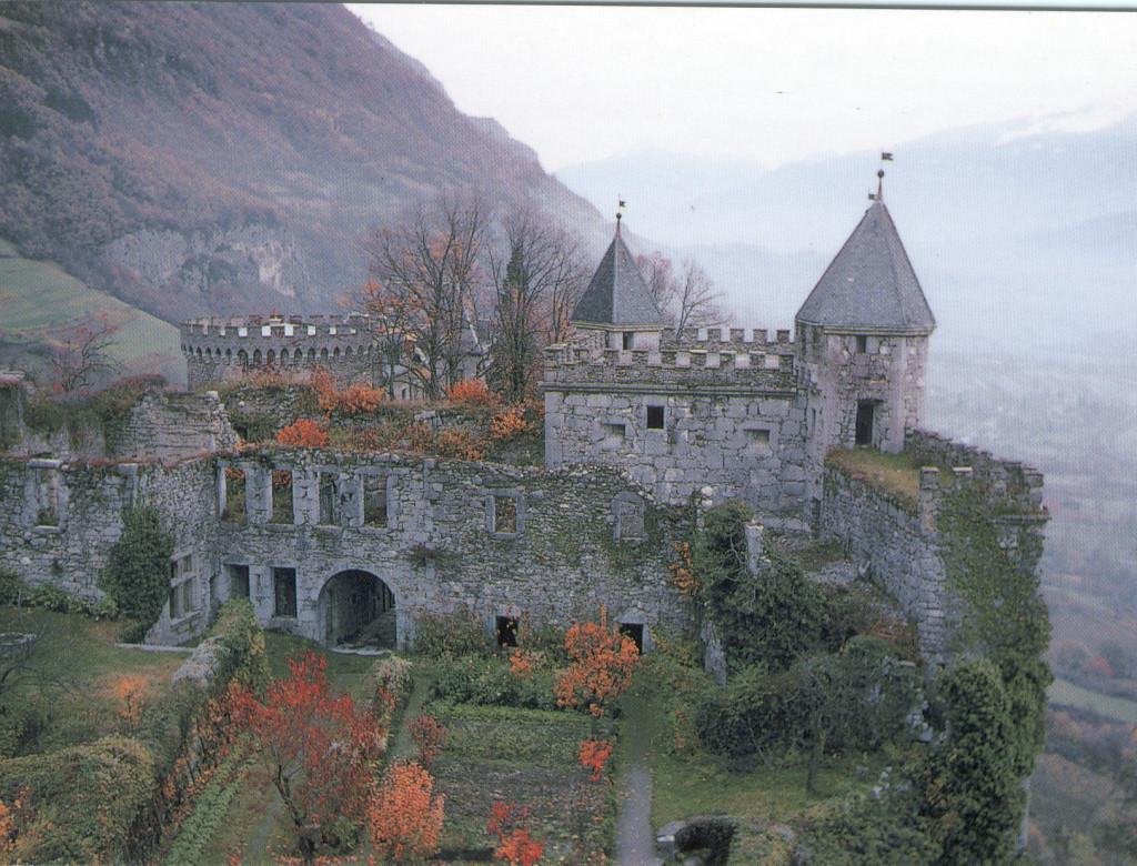 Valorisation du château de Miolans (Saint-Pierre-d'Albigny, Savoie)
