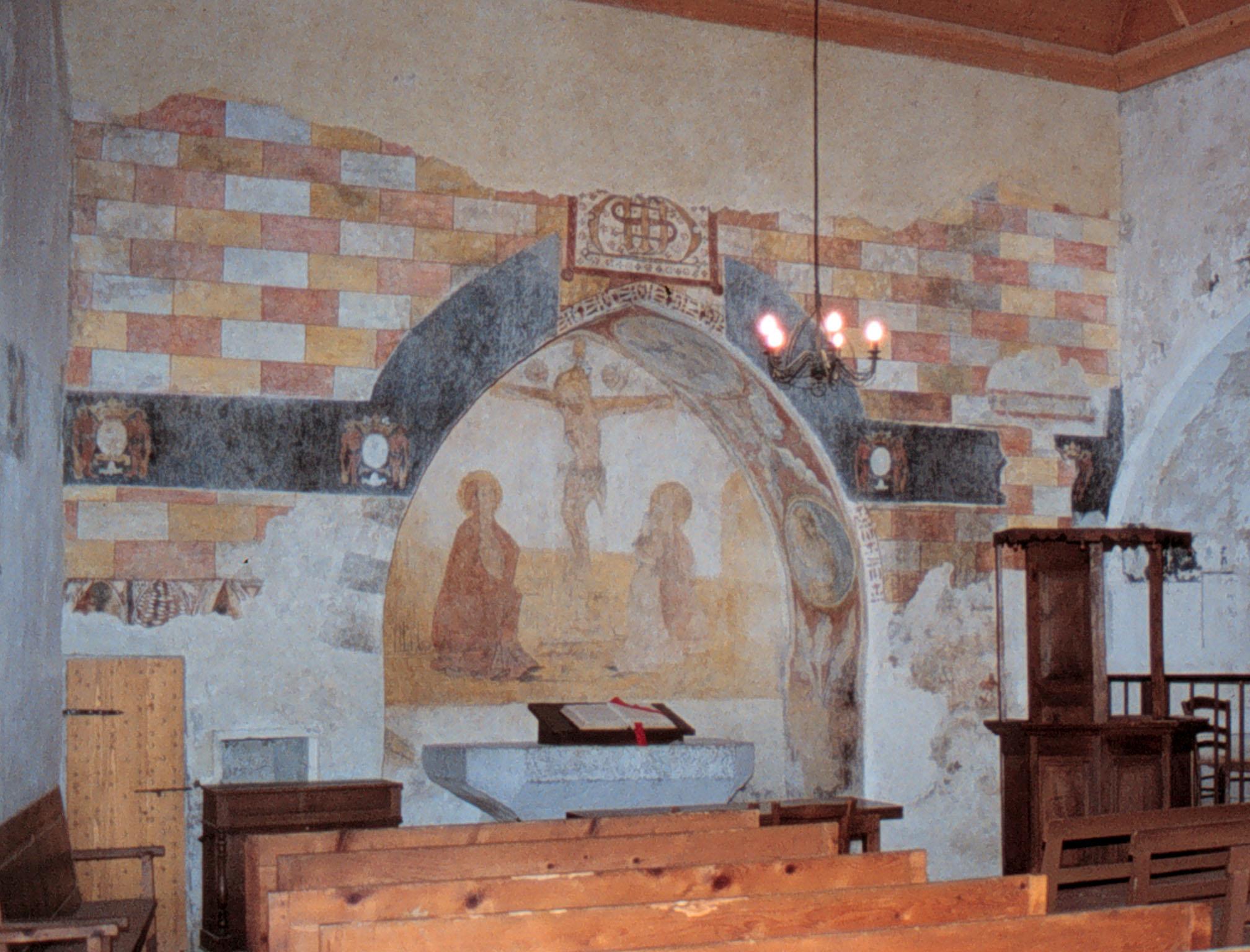 Restauration des fresques du temple de Pontaix (Drôme)
