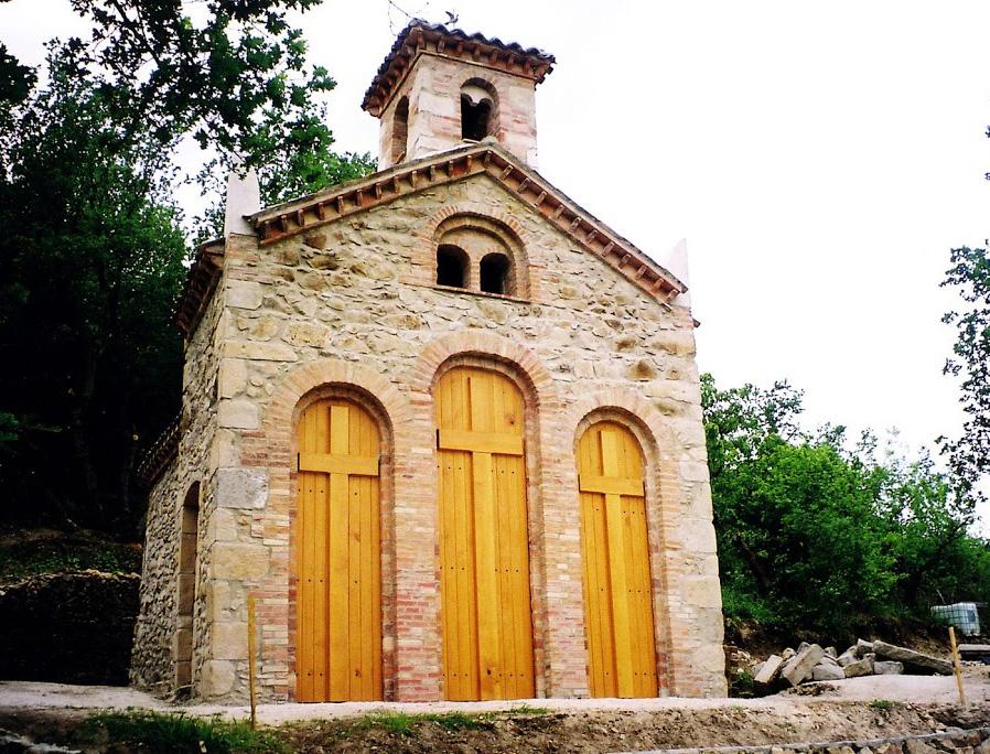 Restauration de la chapelle du Calvaire de Chavanay (Loire)