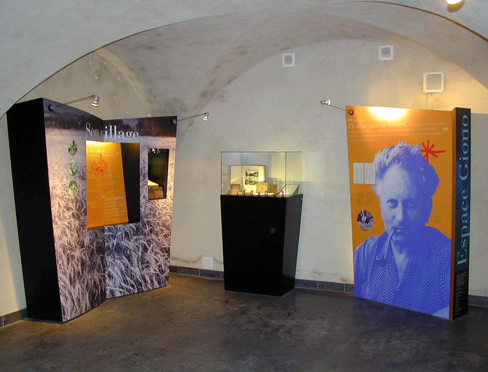 Création de l'espace Giono (Lalley, Isère)