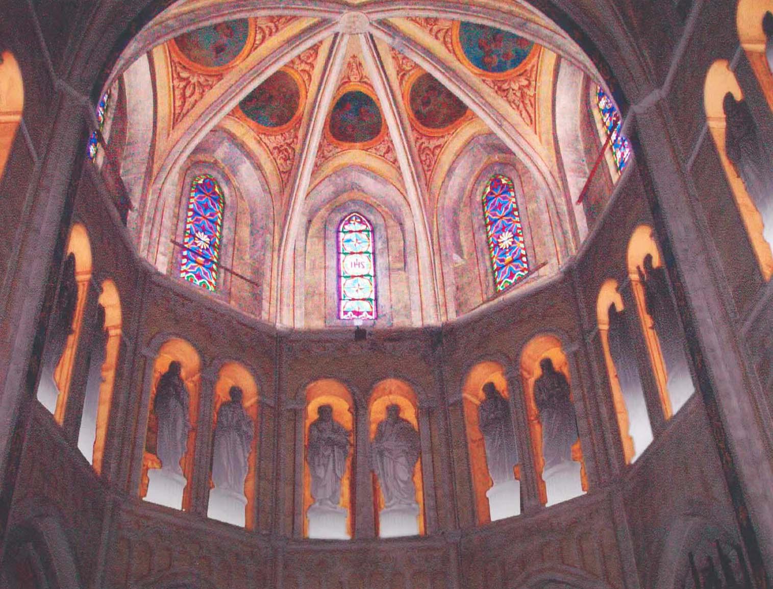 Mise en lumière de l'abbaye Notre-Dame d'Abondance (Haute-Savoie)