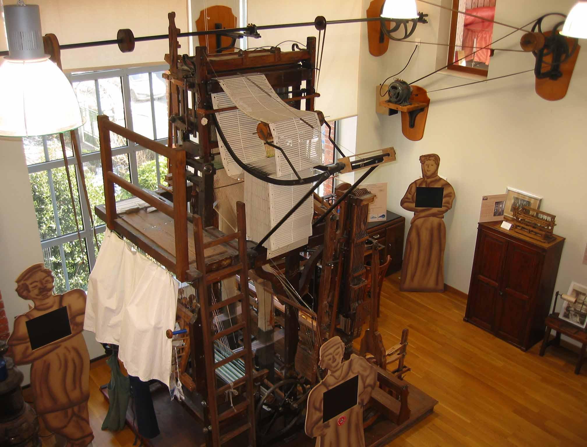 Restauration de l'atelier de passementerie (Saint-Jean-Bonnefonds, Loire)