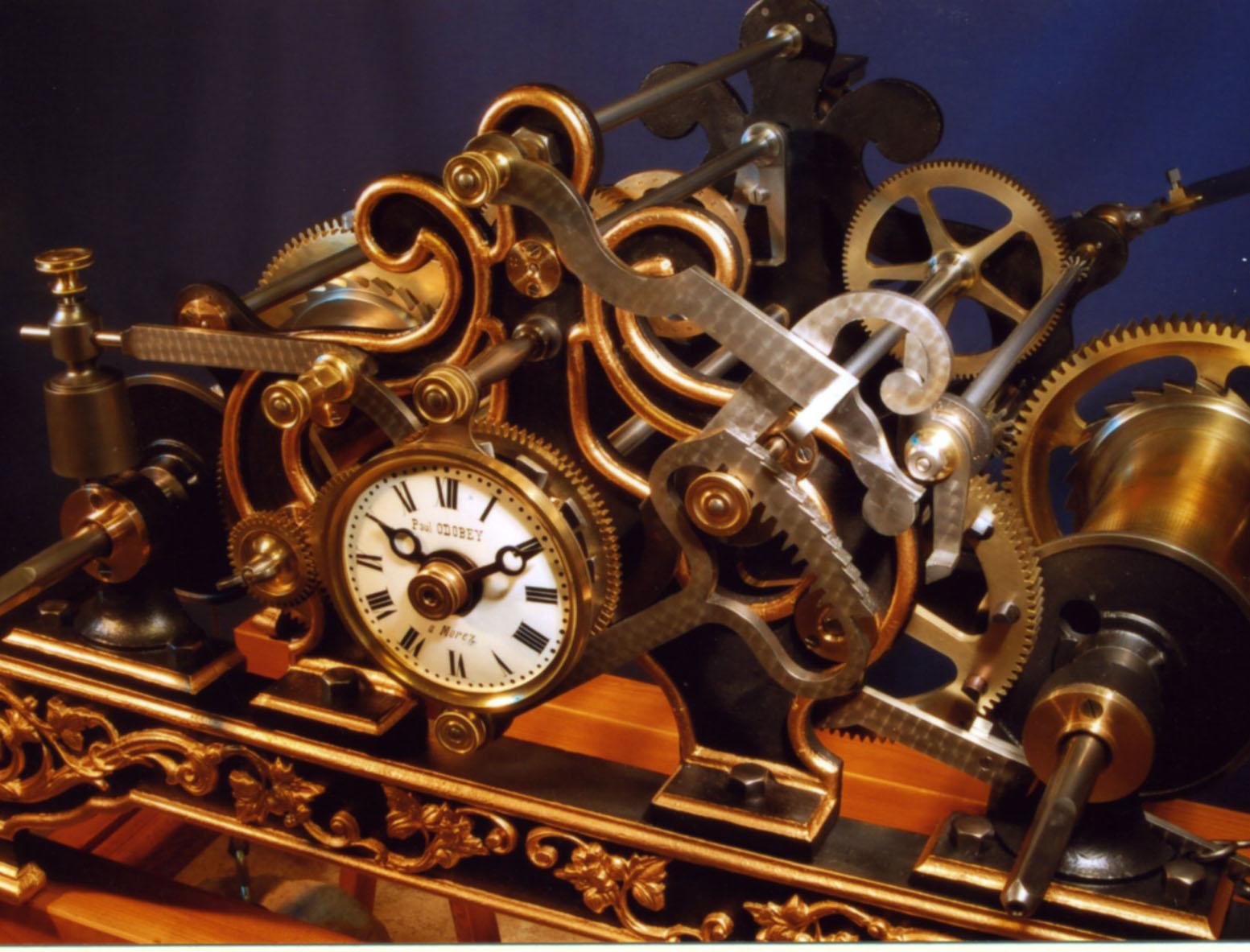Savoir-faire d'horlogeur (Divonne-les-Bains, Ain)