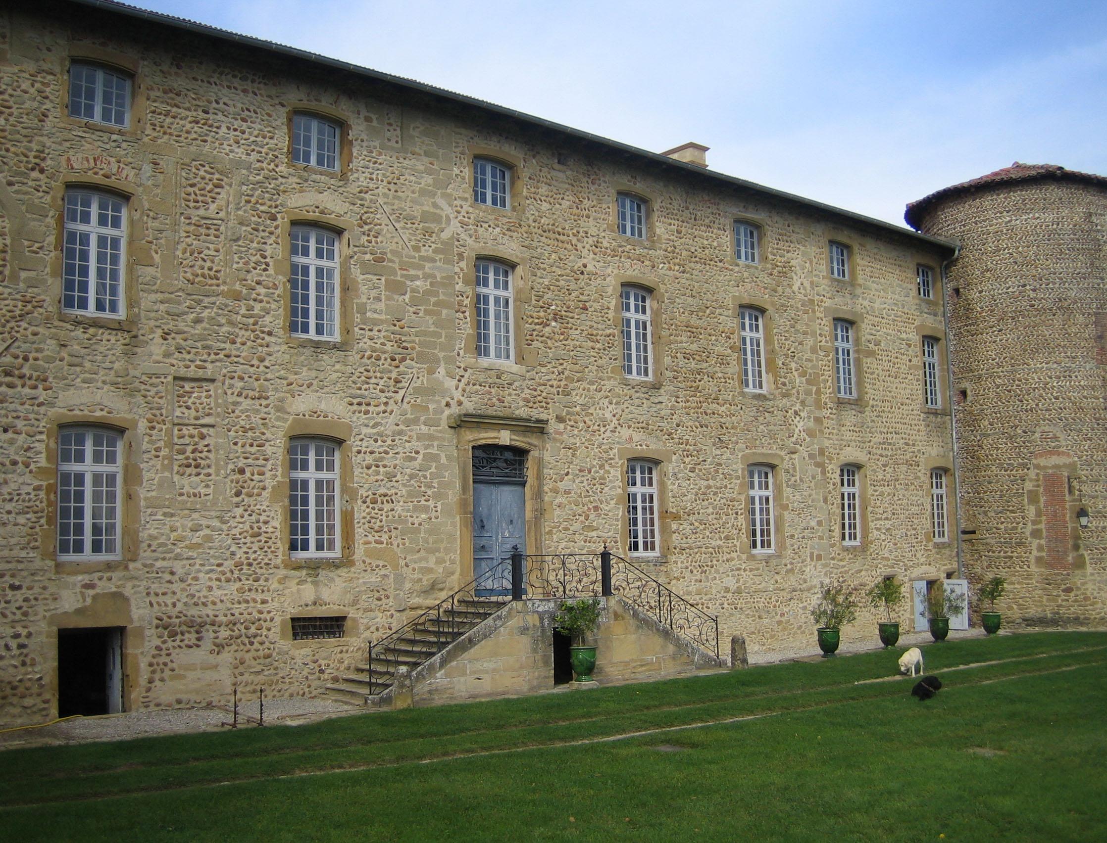 Restauration de la maison forte de Barbarin (Revel-Tourdan, Isère)