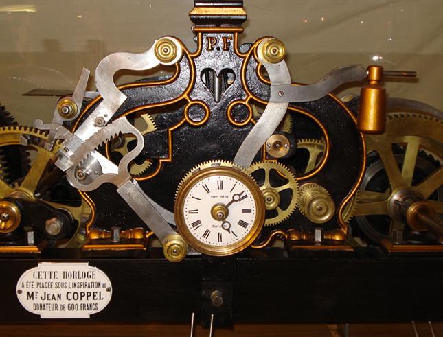 Création de carillon automatique (Les Gets, Haute-Savoie)