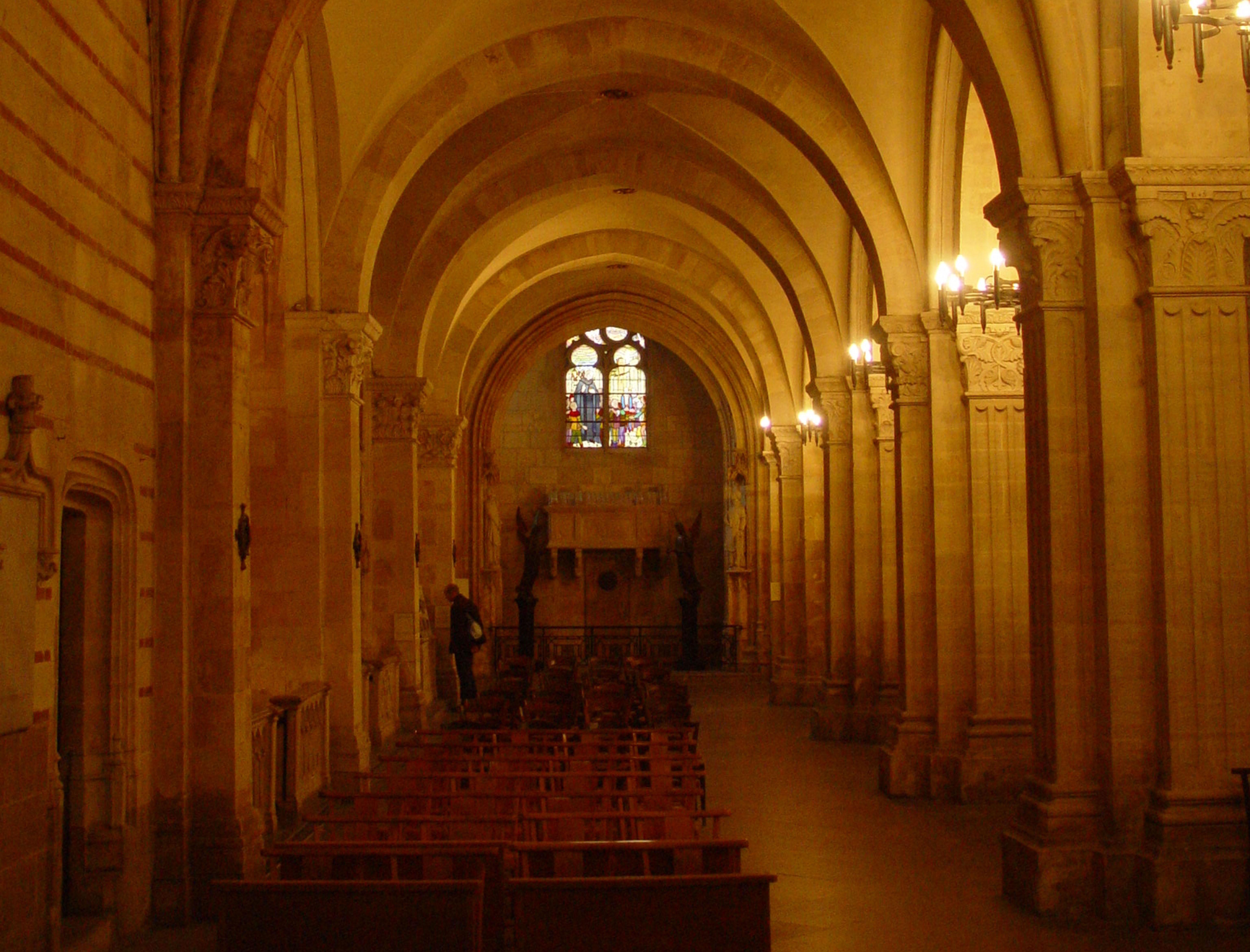 Mise en lumière de l'église Saint-Paul (Lyon, Rhône)