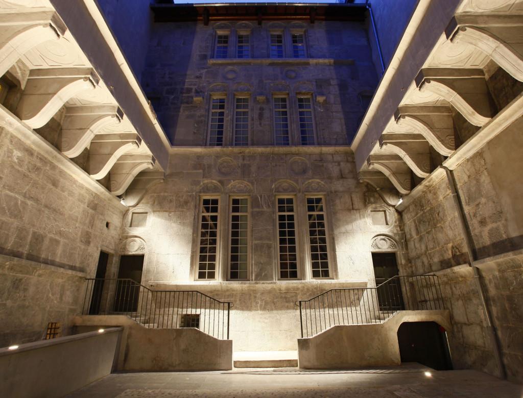 Mise en lumière des hôtels particuliers du Croy-Chanel et de Pierre Bucher (Grenoble, Isère)