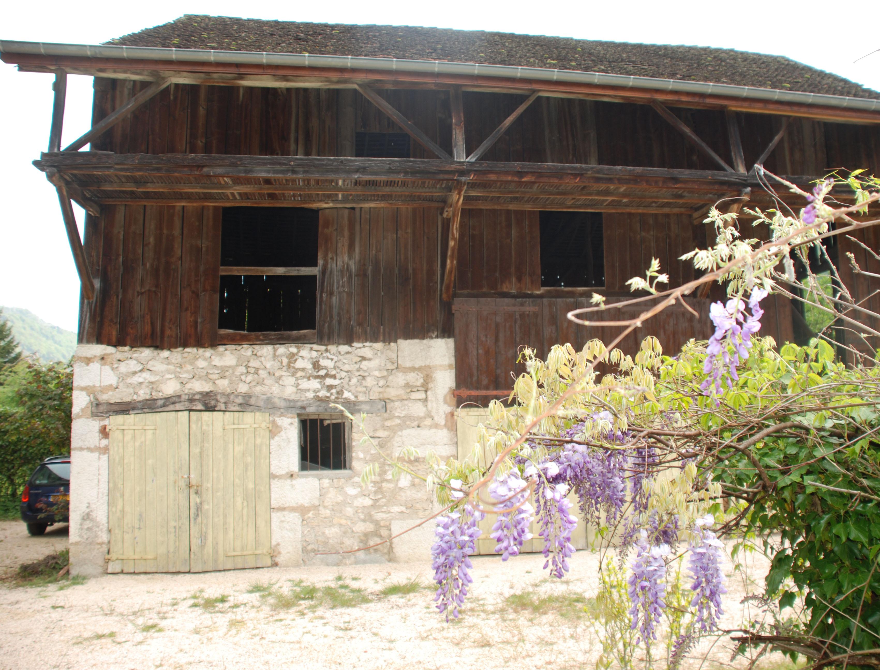 Projet de sauvegarde d'une grange à ossature bois (Isère)