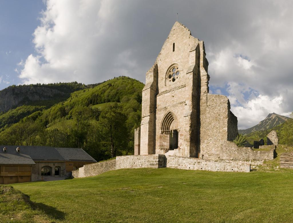Mise en valeur du site de l'abbaye d'Aulps (Haute-Savoie)