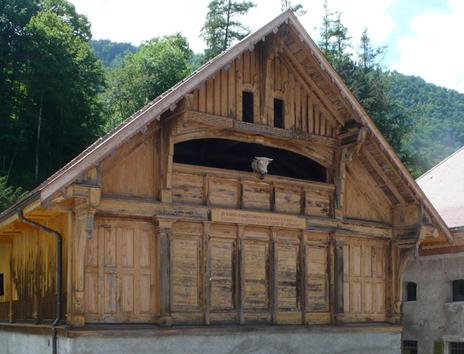 Restauration de la Ferme de Gy (Giez, Haute-Savoie)
