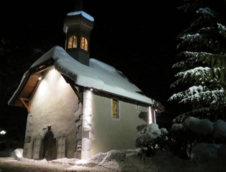 Mise en lumière des chapelles de Samoëns (Haute-Savoie)