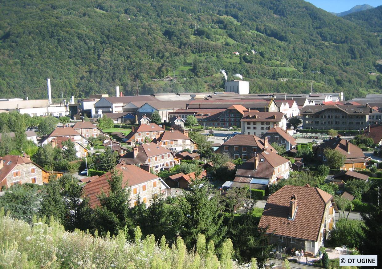 Mise en place d'un circuit découverte autour des architectes du XXème (Ugine, Savoie)