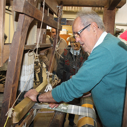 Musée du tissage et de la soierie (42)