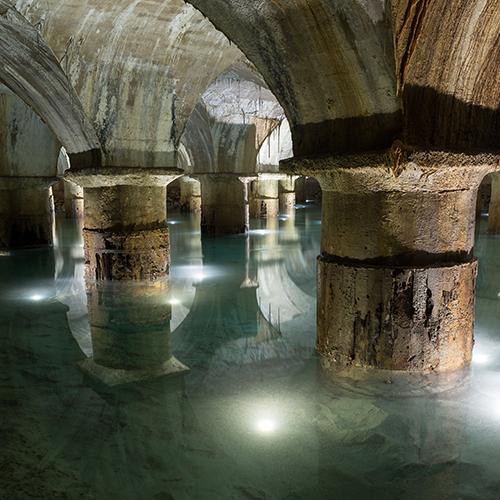 L'eau à Lyon et la Pompe de Cornouailles (69)
