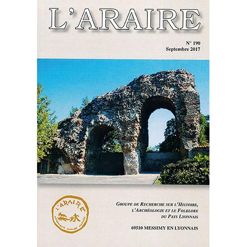 Revue L'ARAIRE<br>n°190