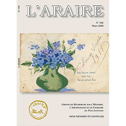 Revue L'Araire<br>n°192