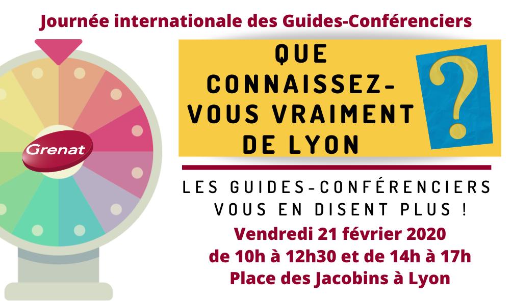 Journée internationale des Guides à Lyon