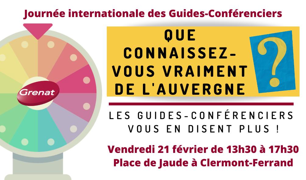 Journée internationale des Guides à Clermont-Ferrand