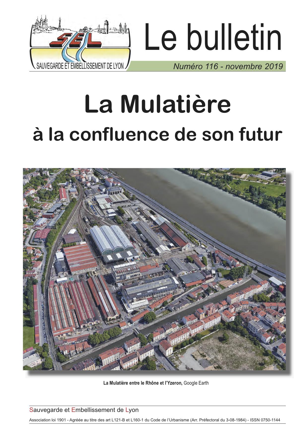 La Mulatière à la confluence de son futur