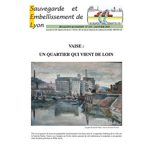 Bulletin SEL  n° 113 (janvier 2018)