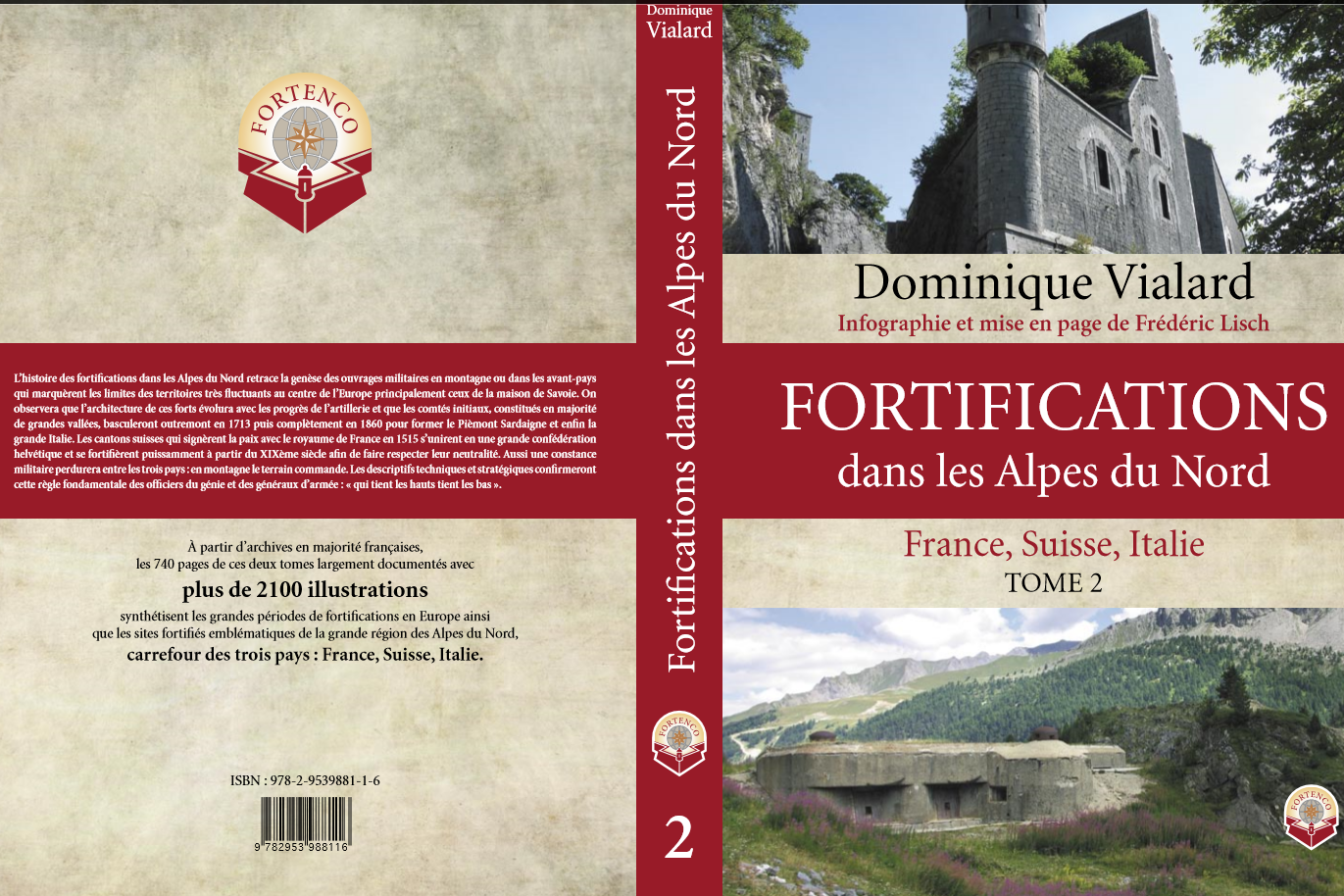 Fortifications dans les Alpes du nord Tome2