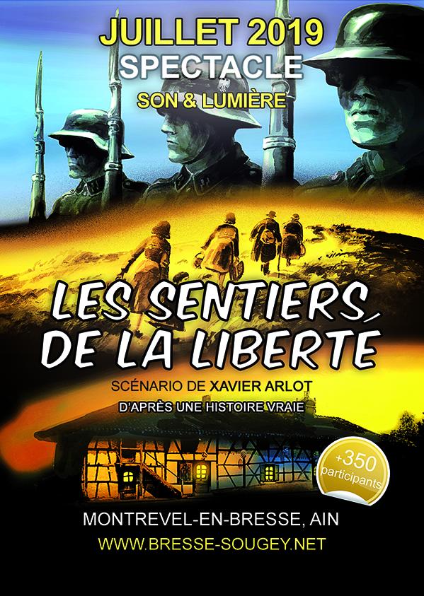 """Spectacle """"Les sentiers de la liberté"""""""