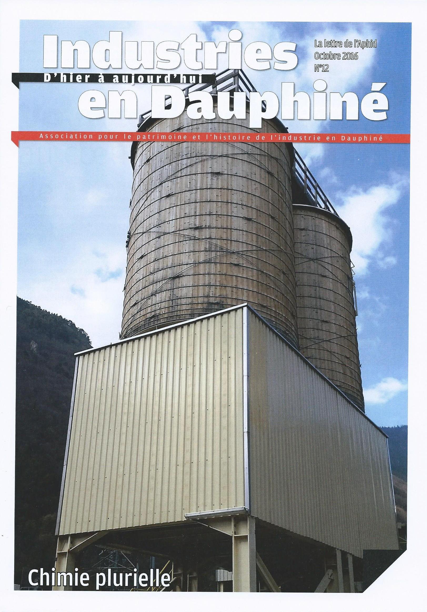 Industries en Dauphiné, d'Hier à aujourd'hui, n°12 Chimie plurielle