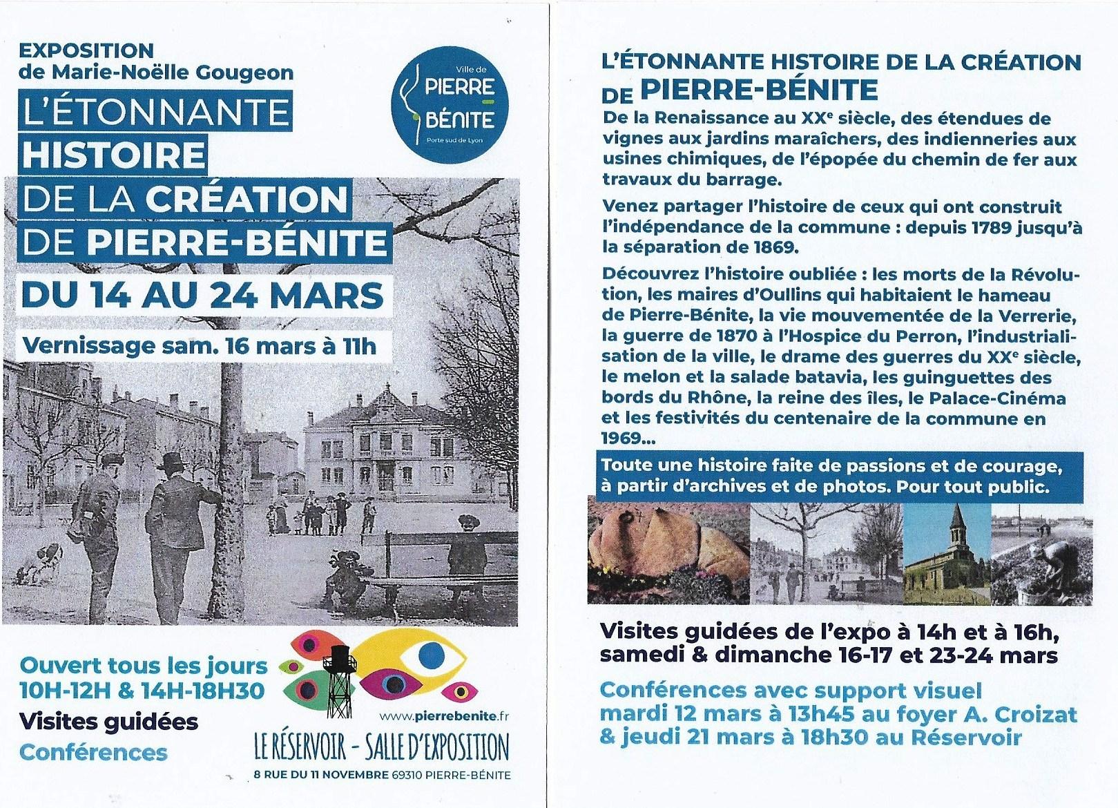 L'étonnante histoire de la création de Pierre-Bénite