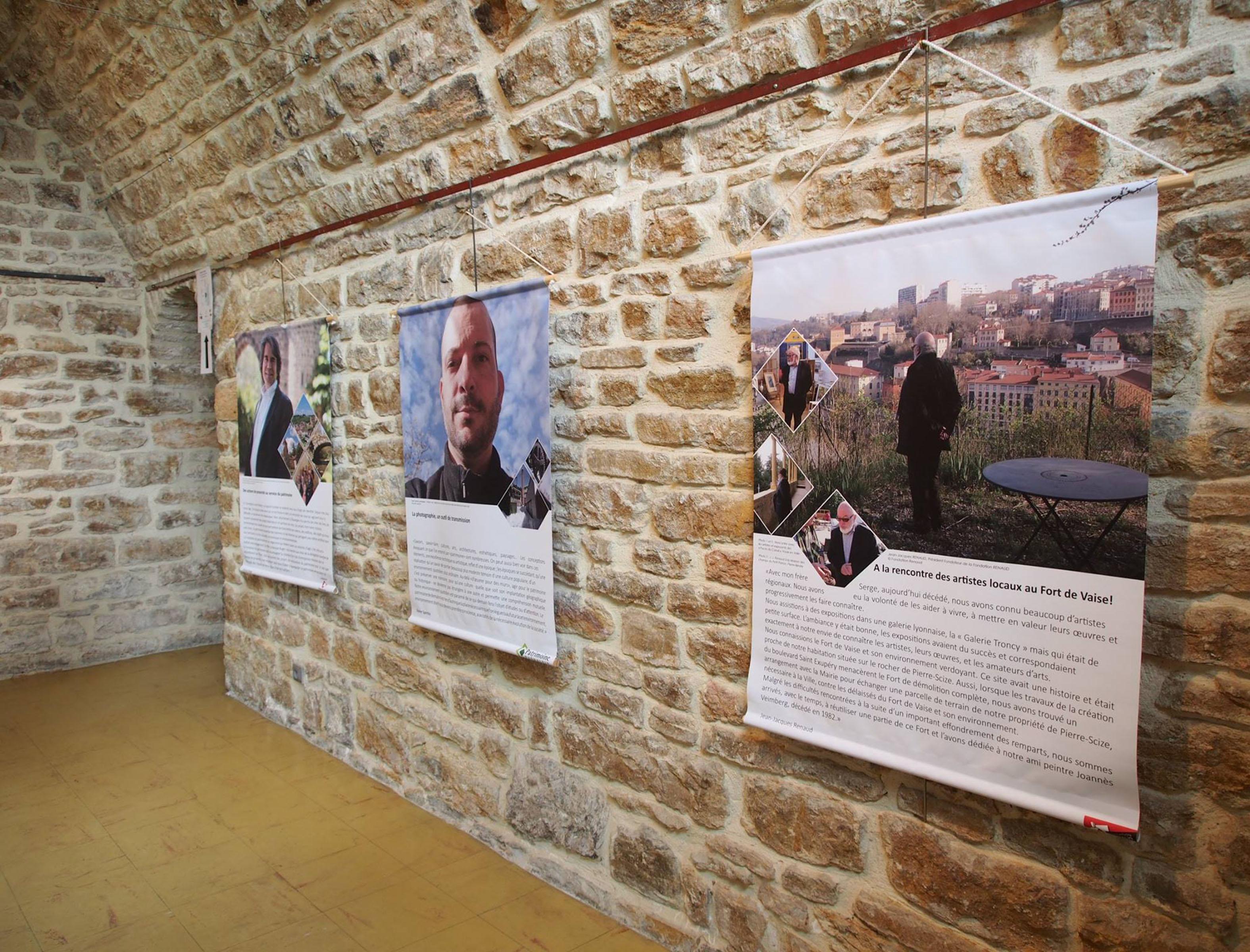 Exposition Portraits d'Hommes et de patrimoines