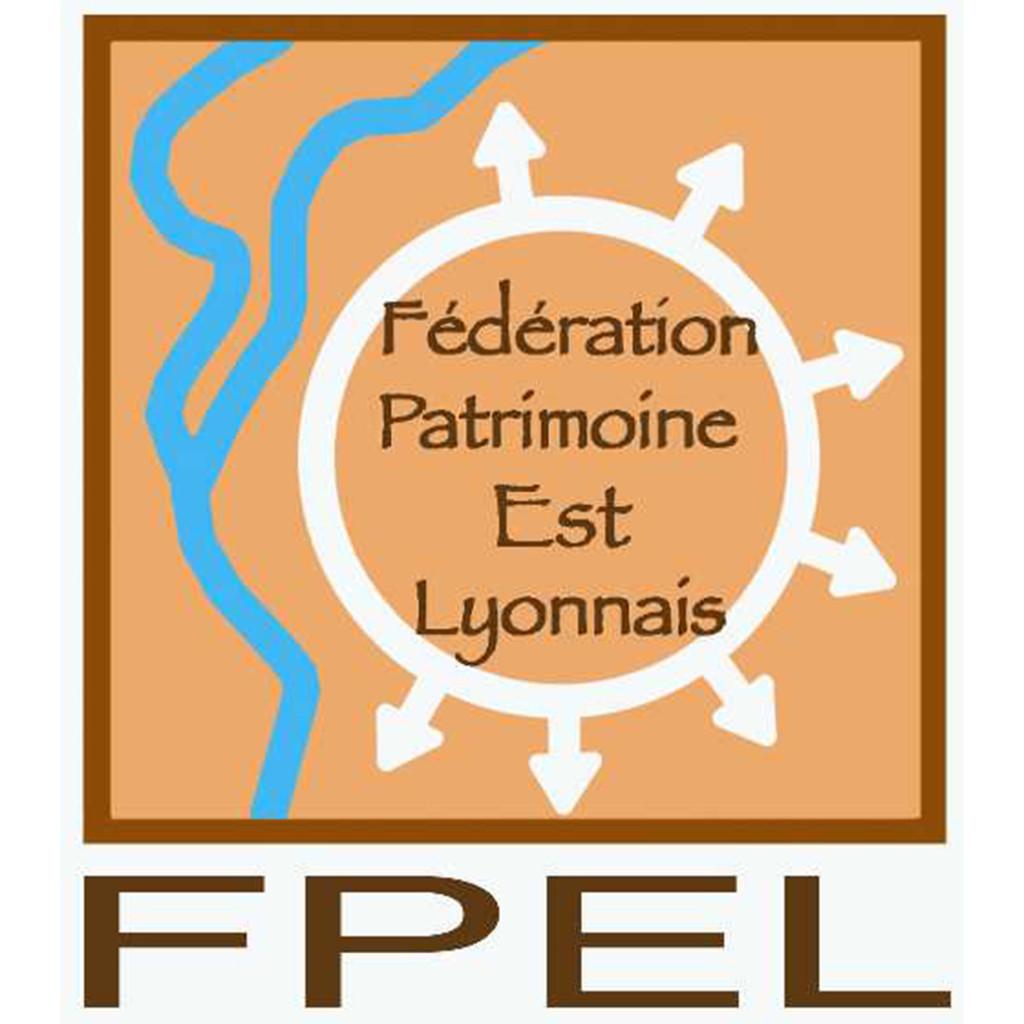 Logo de la Fédération du Patrimoine de l'Est Lyonnais (FPEL)