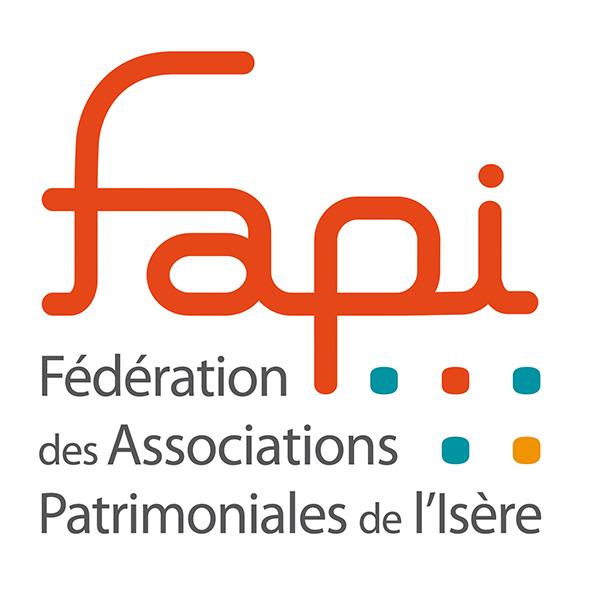 Logo de la Fédération des Associations Patrimoniales de l'Isère (FAPI)