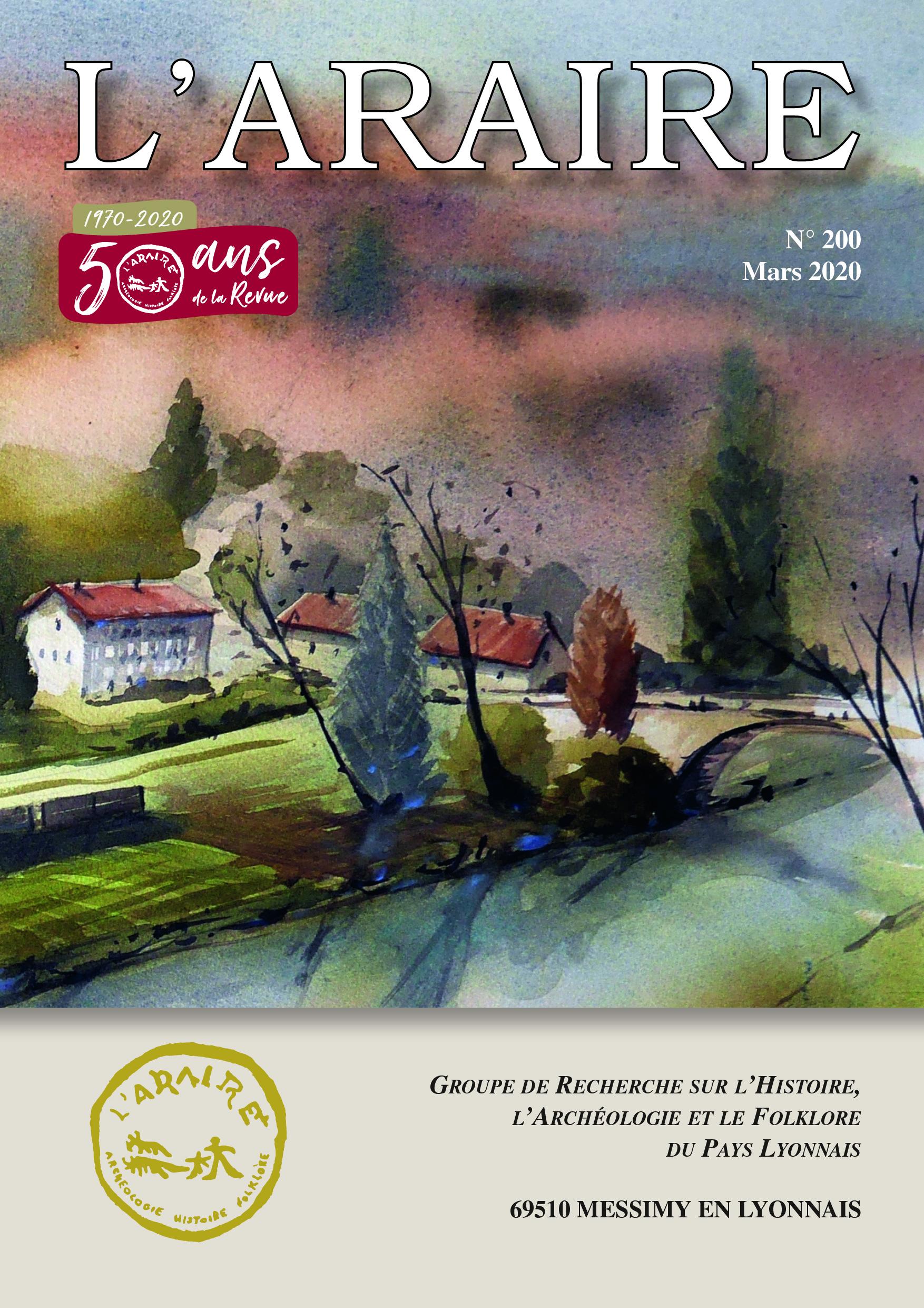 Revue n°200 - L'Araire