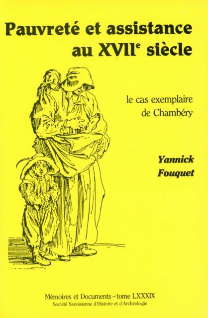 Pauvreté et charité au XVIIe siècle. L'exemple de Chambéry