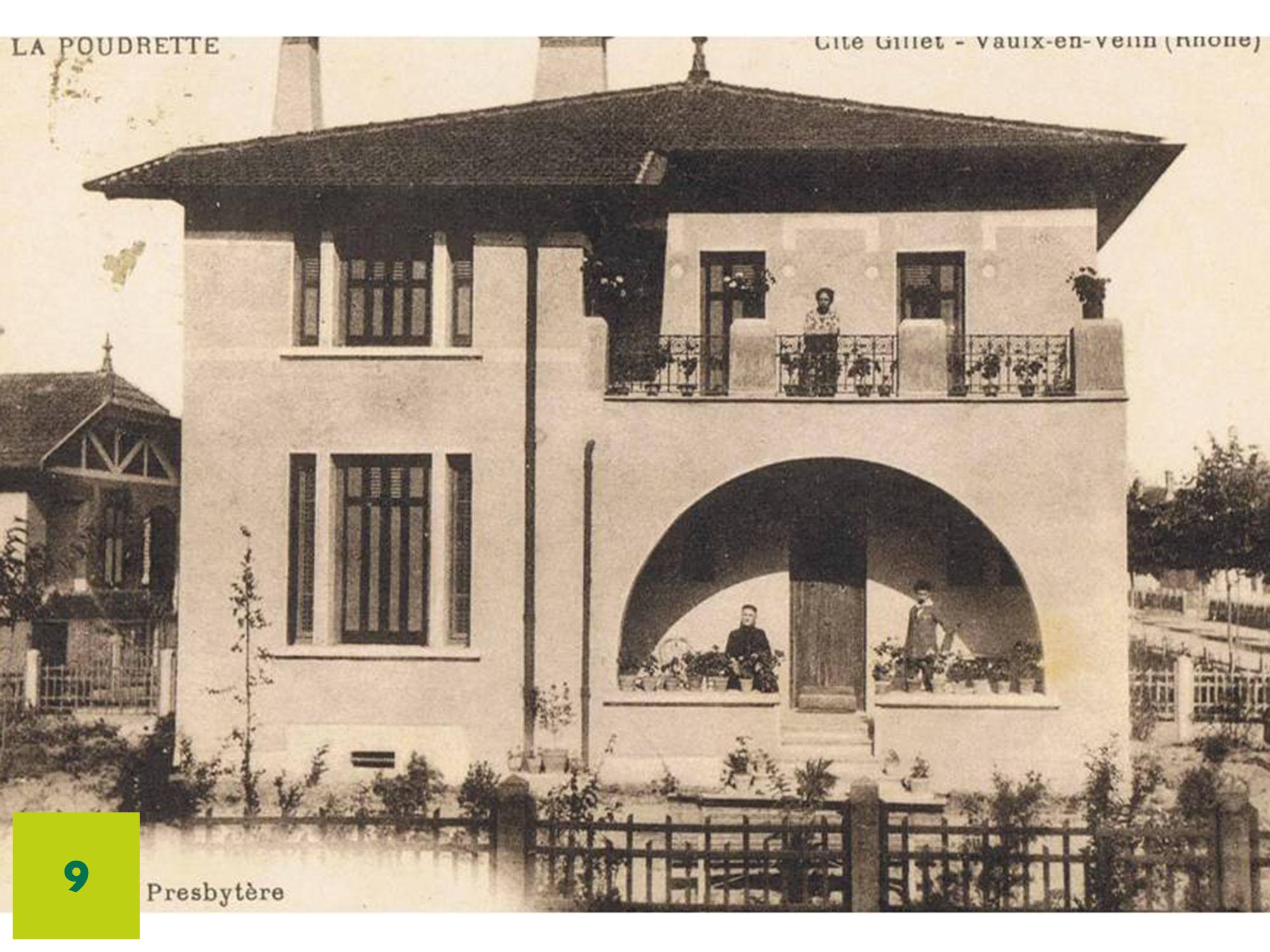 CFEL, usine hydraulique de Cusset, usine TASE, cités jardins