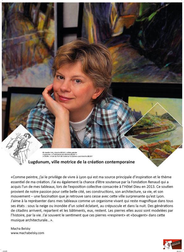 Exposition Portraits d'Hommes et de patrimoines - Macha Belsky