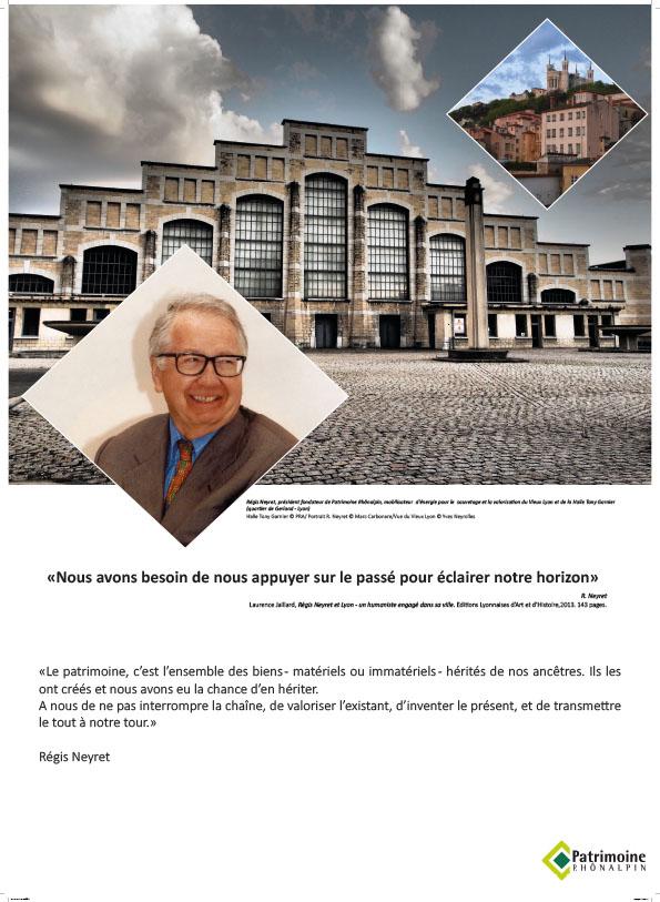Exposition Portraits d'Hommes et de patrimoines - Régis Neyret