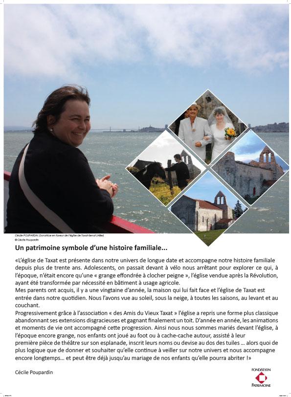 Exposition Portraits d'Hommes et de patrimoines - Céline Poupardin