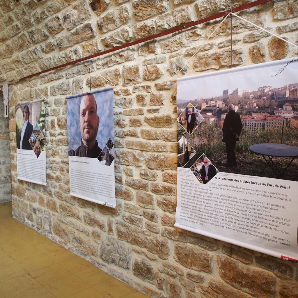 Exposition Portraits d'Hommes et de patrimoines - Fort de Vaise