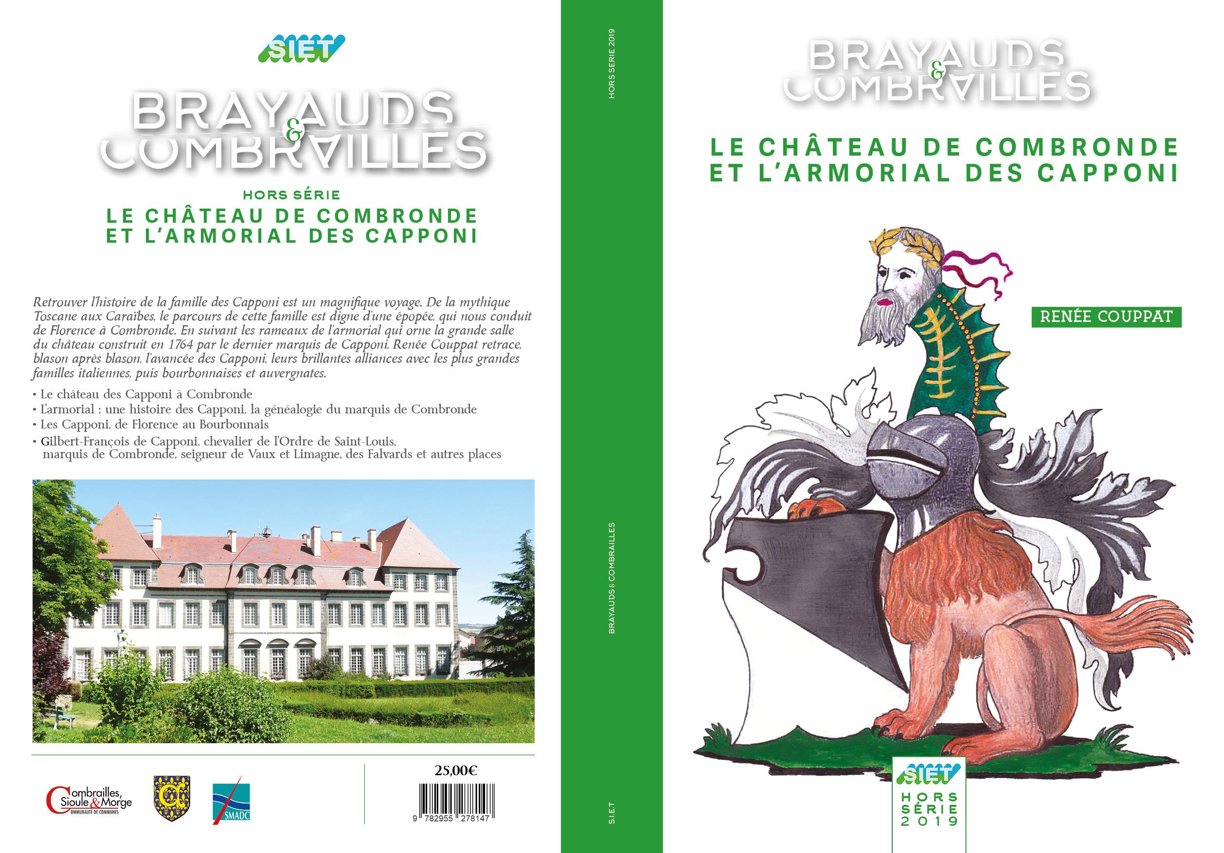 BRAYAUDS & COMBRAILLES  Le château de Combronde et l'armorial des Capponi