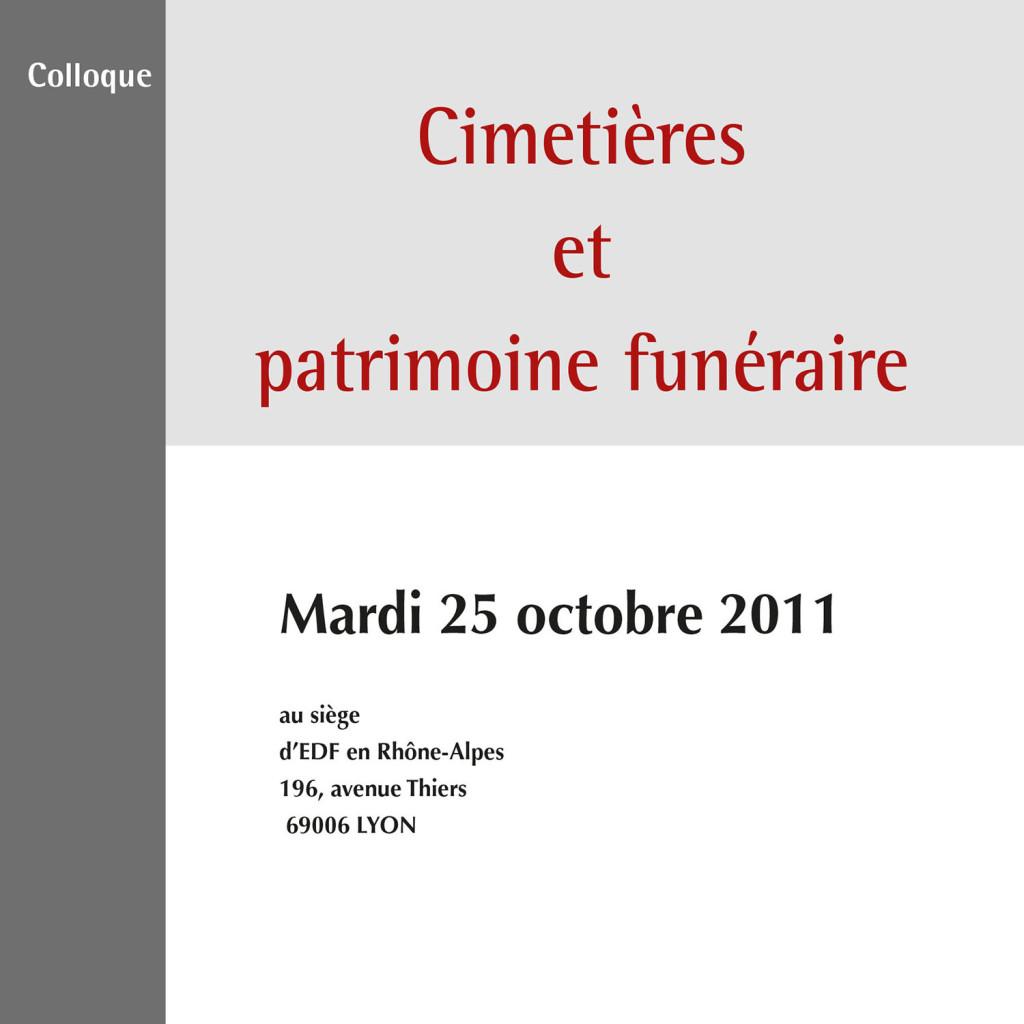 Cimetières et patrimoine funéraire
