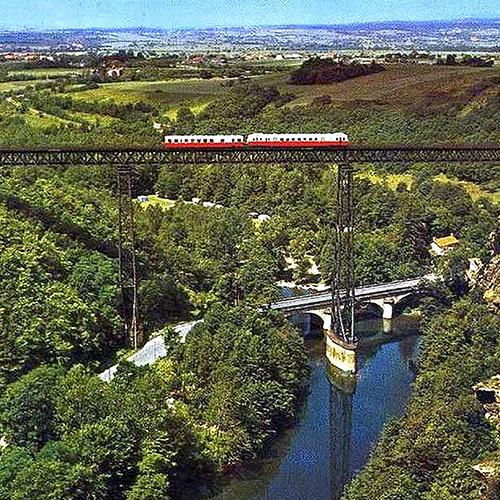 Ancien dépôt SNCF de Montluçon et viaducs (03)