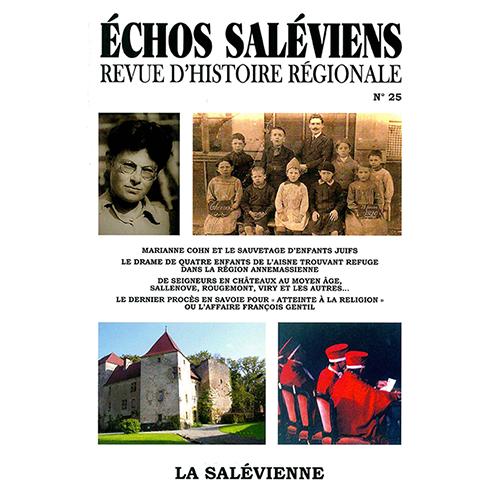 Echos Saléviens<br>N°25