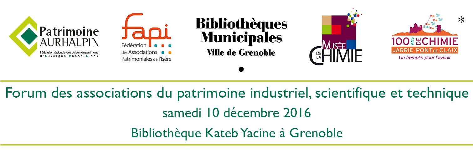 partenaires du Forum patrimoine industriel